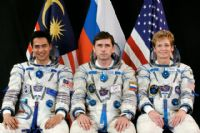 International Space Station Expedition 16 Official Crew Photograph